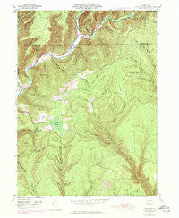 Tamarack Pennsylvania Historical topographic map, 1:24000 scale, 7.5 X 7.5 Minute, Year 1946