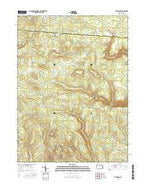 The Knobs Pennsylvania Current topographic map, 1:24000 scale, 7.5 X 7.5 Minute, Year 2016 from Pennsylvania Map Store