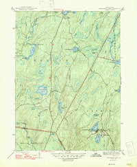 Twelvemile Pond Pennsylvania Historical topographic map, 1:31680 scale, 7.5 X 7.5 Minute, Year 1947