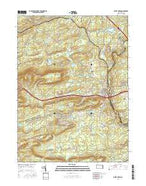 White Haven Pennsylvania Current topographic map, 1:24000 scale, 7.5 X 7.5 Minute, Year 2016 from Pennsylvania Map Store