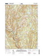White Mills Pennsylvania Current topographic map, 1:24000 scale, 7.5 X 7.5 Minute, Year 2016 from Pennsylvania Map Store