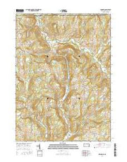 Windham Pennsylvania Current topographic map, 1:24000 scale, 7.5 X 7.5 Minute, Year 2016 from Pennsylvania Maps Store