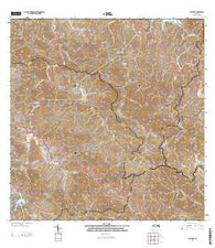 Adjuntas Puerto Rico Current topographic map, 1:20000 scale, 7.5 X 7.5 Minute, Year 2013