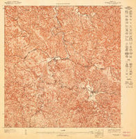 Adjuntas NO Puerto Rico Historical topographic map, 1:10000 scale, 3.75 X 3.75 Minute, Year 1947