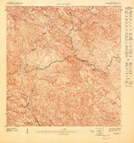 Adjuntas SE Puerto Rico Historical topographic map, 1:10000 scale, 3.75 X 3.75 Minute, Year 1947