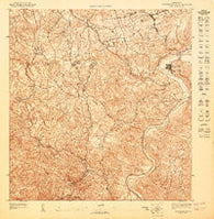 Aguas Buenas NE Puerto Rico Historical topographic map, 1:10000 scale, 3.75 X 3.75 Minute, Year 1947