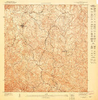 Aguas Buenas NO Puerto Rico Historical topographic map, 1:10000 scale, 3.75 X 3.75 Minute, Year 1947