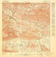 Aguas Buenas SE Puerto Rico Historical topographic map, 1:10000 scale, 3.75 X 3.75 Minute, Year 1947