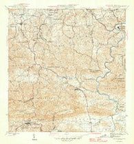 Aguas Buenas Puerto Rico Historical topographic map, 1:30000 scale, 7.5 X 7.5 Minute, Year 1946