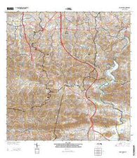 Aguas Buenas Puerto Rico Historical topographic map, 1:20000 scale, 7.5 X 7.5 Minute, Year 2013