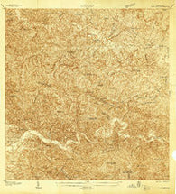 Alto Sano Puerto Rico Historical topographic map, 1:20000 scale, 7.5 X 7.5 Minute, Year 1938