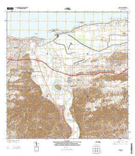 Arecibo Puerto Rico Historical topographic map, 1:20000 scale, 7.5 X 7.5 Minute, Year 2013