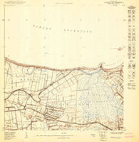 Bayamon NO Puerto Rico Historical topographic map, 1:10000 scale, 3.75 X 3.75 Minute, Year 1950