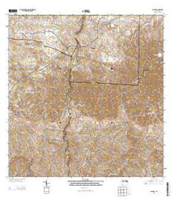 Bayaney Puerto Rico Historical topographic map, 1:20000 scale, 7.5 X 7.5 Minute, Year 2013
