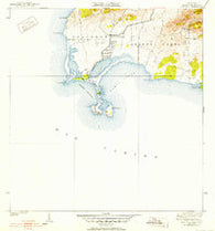 Cabo Rojo Puerto Rico Historical topographic map, 1:30000 scale, 7.5 X 7.5 Minute, Year 1938