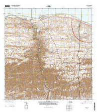 Camuy Puerto Rico Historical topographic map, 1:20000 scale, 7.5 X 7.5 Minute, Year 2013