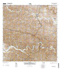 Central La Plata Puerto Rico Historical topographic map, 1:20000 scale, 7.5 X 7.5 Minute, Year 2013
