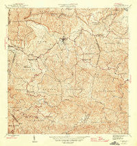Corozal Puerto Rico Historical topographic map, 1:30000 scale, 7.5 X 7.5 Minute, Year 1946