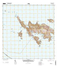 Culebra Puerto Rico Historical topographic map, 1:20000 scale, 7.5 X 7.5 Minute, Year 2013