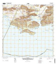 Guanica Puerto Rico Historical topographic map, 1:20000 scale, 7.5 X 7.5 Minute, Year 2013