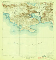 Guanica Puerto Rico Historical topographic map, 1:30000 scale, 7.5 X 7.5 Minute, Year 1938