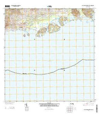 Isla De Vieques Central OE S Puerto Rico Historical topographic map, 1:20000 scale, 7.5 X 7.5 Minute, Year 2013