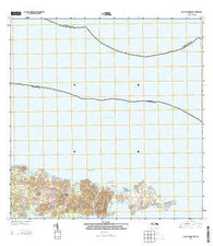 Isla De Vieques East Puerto Rico Historical topographic map, 1:20000 scale, 7.5 X 7.5 Minute, Year 2013
