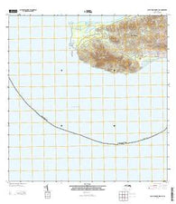 Isla De Vieques West OE S Puerto Rico Historical topographic map, 1:20000 scale, 7.5 X 7.5 Minute, Year 2013