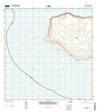 Isla de Mona Puerto Rico Historical topographic map, 1:20000 scale, 7.5 X 7.5 Minute, Year 2013