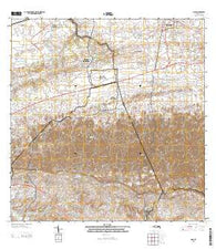 Moca Puerto Rico Historical topographic map, 1:20000 scale, 7.5 X 7.5 Minute, Year 2013