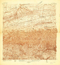 Moca Puerto Rico Historical topographic map, 1:20000 scale, 7.5 X 7.5 Minute, Year 1937