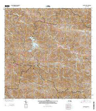 Monte Guilarte Puerto Rico Historical topographic map, 1:20000 scale, 7.5 X 7.5 Minute, Year 2013