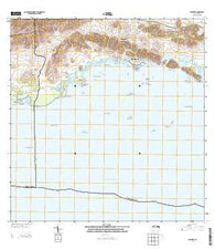 Parguera Puerto Rico Historical topographic map, 1:20000 scale, 7.5 X 7.5 Minute, Year 2013