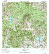 Patillas Puerto Rico Historical topographic map, 1:20000 scale, 7.5 X 7.5 Minute, Year 1972