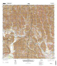 Penuelas Puerto Rico Historical topographic map, 1:20000 scale, 7.5 X 7.5 Minute, Year 2013
