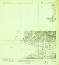 Puerto Real Puerto Rico Historical topographic map, 1:25000 scale, 7.5 X 7.5 Minute, Year 1935