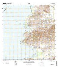 Puerto Real Puerto Rico Historical topographic map, 1:20000 scale, 7.5 X 7.5 Minute, Year 2013