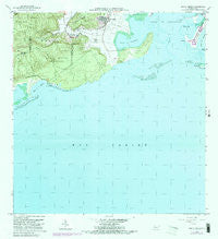Punta Verraco Puerto Rico Historical topographic map, 1:20000 scale, 7.5 X 7.5 Minute, Year 1966