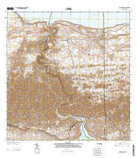 Quebradillas Puerto Rico Historical topographic map, 1:20000 scale, 7.5 X 7.5 Minute, Year 2013