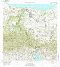 Quebradillas Puerto Rico Historical topographic map, 1:20000 scale, 7.5 X 7.5 Minute, Year 1972