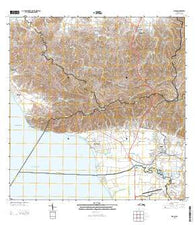 Rincon Puerto Rico Historical topographic map, 1:20000 scale, 7.5 X 7.5 Minute, Year 2013
