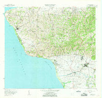Rincon Puerto Rico Historical topographic map, 1:20000 scale, 7.5 X 7.5 Minute, Year 1966