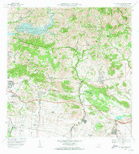 Rio Descalabrado Puerto Rico Historical topographic map, 1:20000 scale, 7.5 X 7.5 Minute, Year 1972