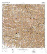 Rosario Puerto Rico Historical topographic map, 1:20000 scale, 7.5 X 7.5 Minute, Year 2013