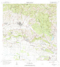Sabana Grande Puerto Rico Historical topographic map, 1:20000 scale, 7.5 X 7.5 Minute, Year 1966