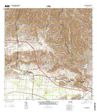 Sabana Grande Puerto Rico Historical topographic map, 1:20000 scale, 7.5 X 7.5 Minute, Year 2013