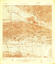 San German Puerto Rico Historical topographic map, 1:25000 scale, 7.5 X 7.5 Minute, Year 1937