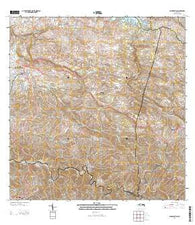 San Sebastian Puerto Rico Historical topographic map, 1:20000 scale, 7.5 X 7.5 Minute, Year 2013