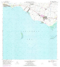 Santa Isabel Puerto Rico Historical topographic map, 1:20000 scale, 7.5 X 7.5 Minute, Year 1972
