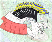 Buy digital map collection YellowMaps Canada Topo Maps: Western Canada DVD Collection from Canada Maps Store
